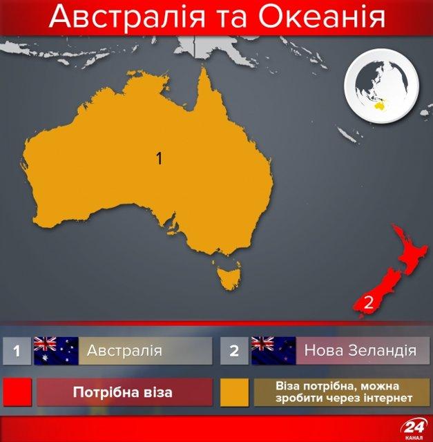Полезная инфографика. Карта стран мира, куда украинцы могут ездить без виз - фото 50376