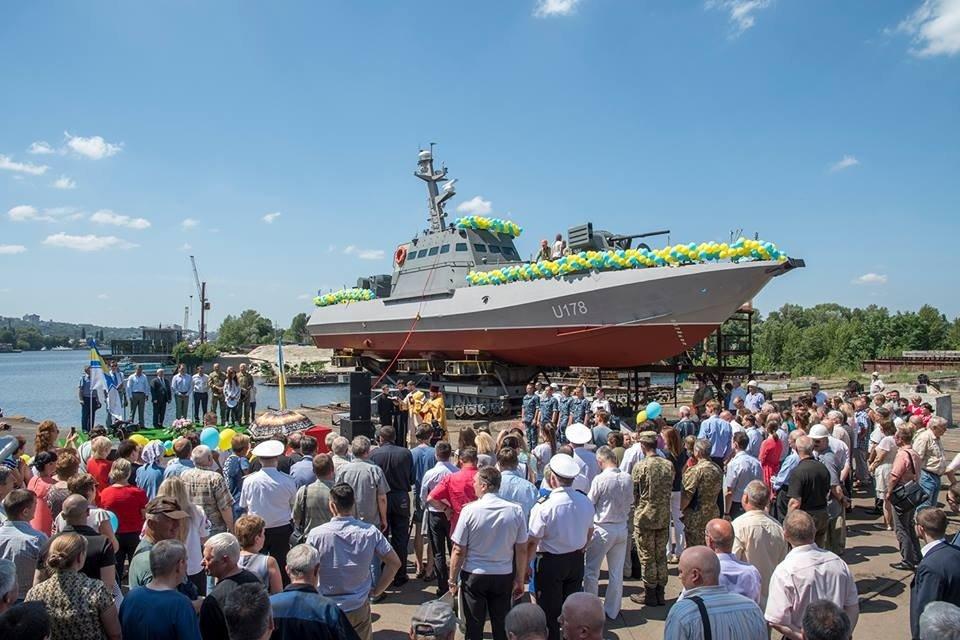 Певица Руслана крестила новый артиллерийский катер ВСУ - фото 54848