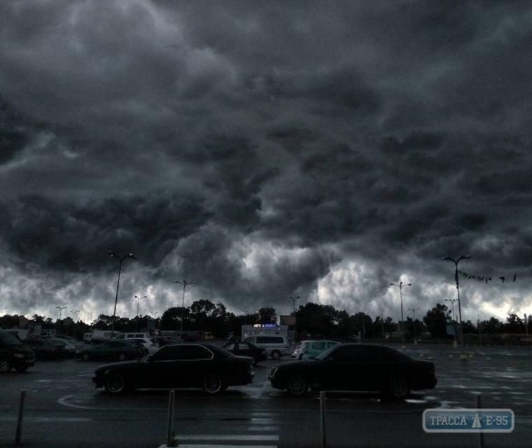 Ураганный ветер в Одессе - фото 53653