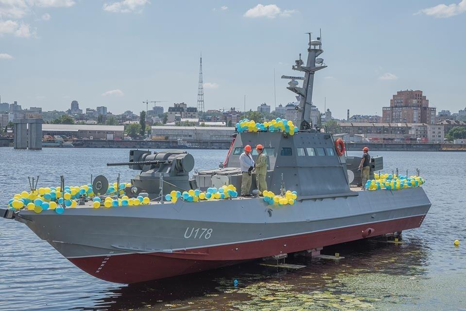 Певица Руслана крестила новый артиллерийский катер ВСУ - фото 54849