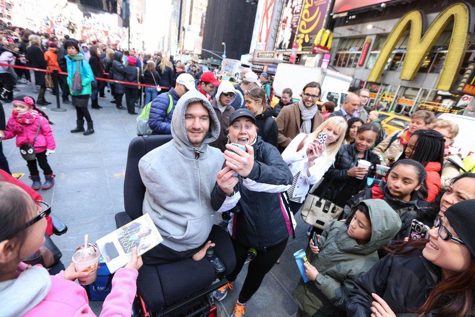 Ник на лекции в Нью_йорке - фото 52875