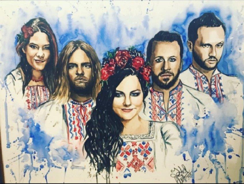 Evanescence уникально порадовали фанатов из Украины - фото 54330