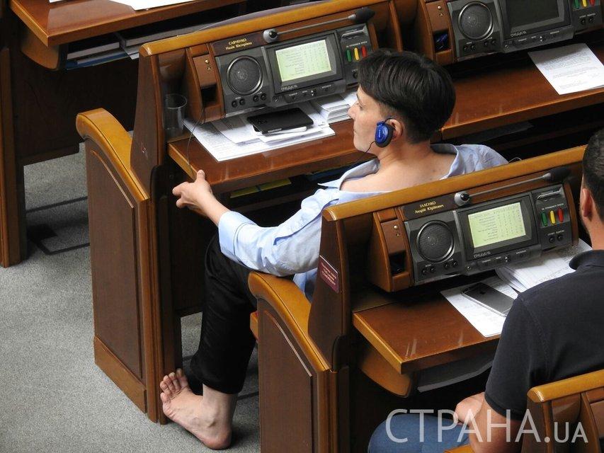 Надежда Савченко не перестает удивлять - фото 53239