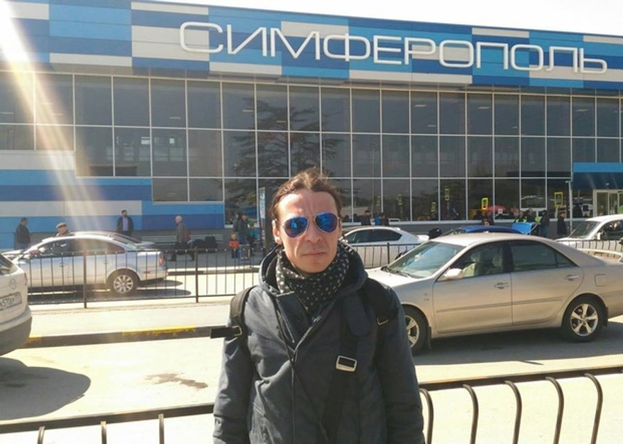 Борзов в Симферополе весной 2017 - фото 54936