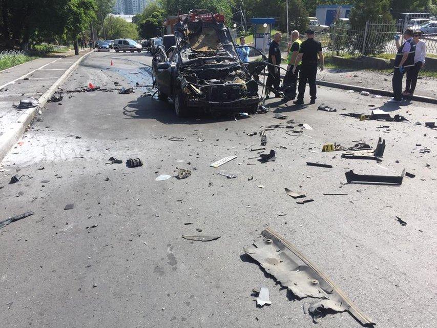 Русский след: кто стоит за подрывом машины Максима Шаповала в Киеве - фото 54436