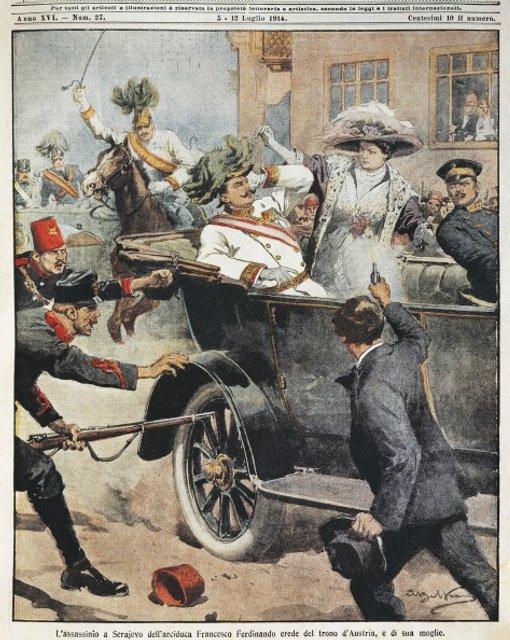 Убийство австрийского эрцгерцога Франца Фердинанда - фото 54761