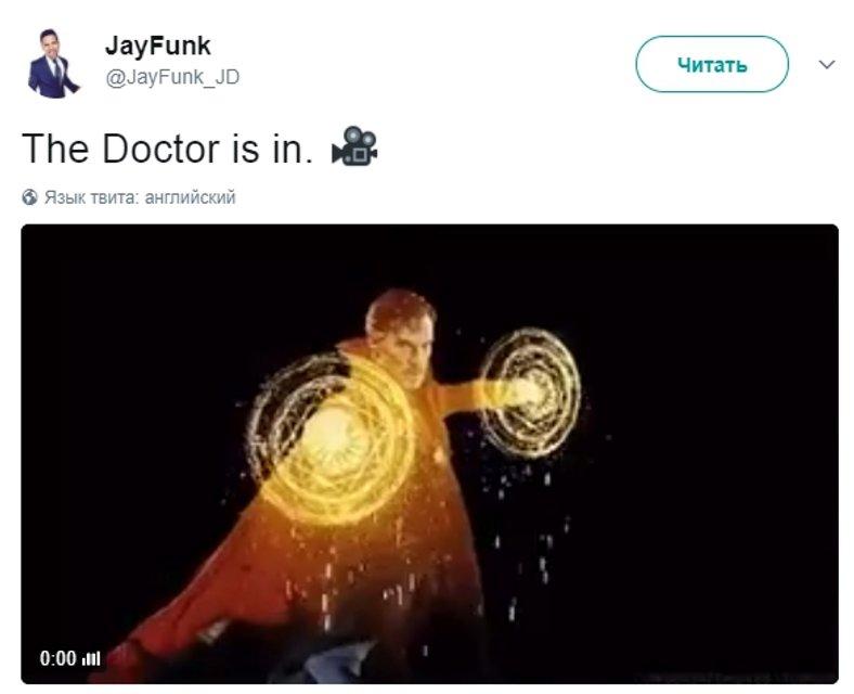 Бенедикт Камбербэтч появился на съемках Мстители: Война бесконечности - фото 51975