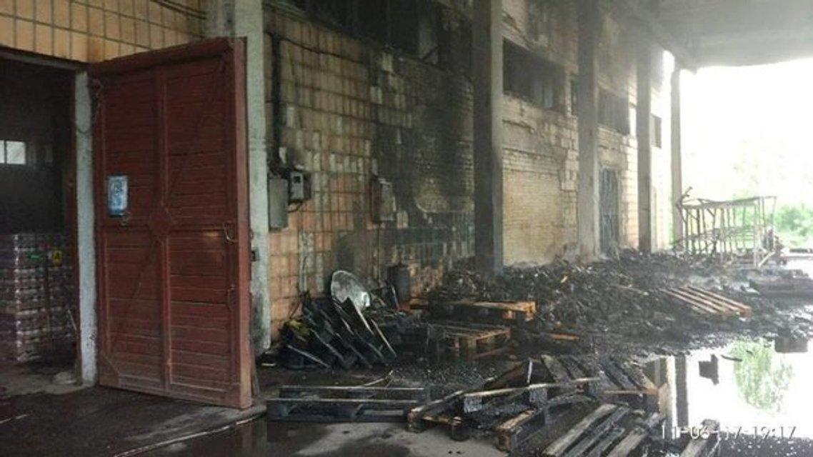 В Киеве на ВДНХ произошел масштабный пожар - фото 51016