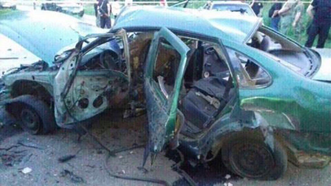 Авто с сотрудниками СБУ взорвали в Донецкой области: есть погибший (обновлено) - фото 54543