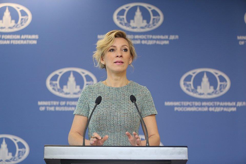 Русская дипломатия опозорена. Мария Захарова выступила на фоне ошибок - фото 50568