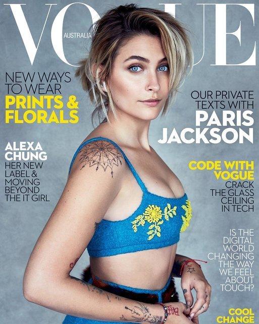 Пэрис Джексон на обложке Vogue - фото 52918
