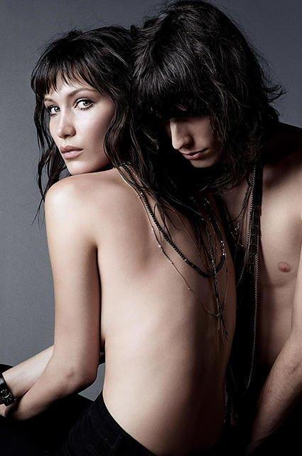 Белла Хадид и Джастин Глоссман - фото 53073