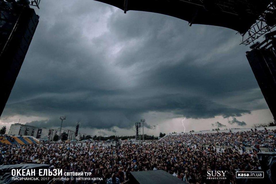Гром и молнии: Океан Эльзы дали сумасшедший концерт на Донбассе - фото 50817