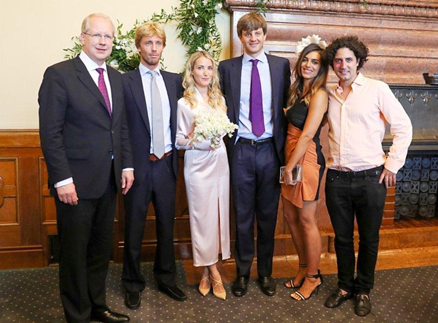 Свадьба принца Эрнста Августа Ганноверского и Екатерины Малышевой - фото 56300