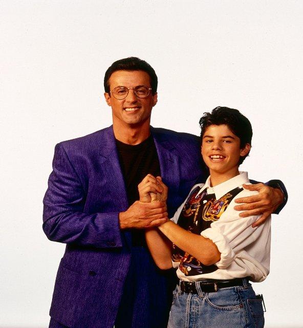 Сильвестр с сыном Сейджем - фото 55972