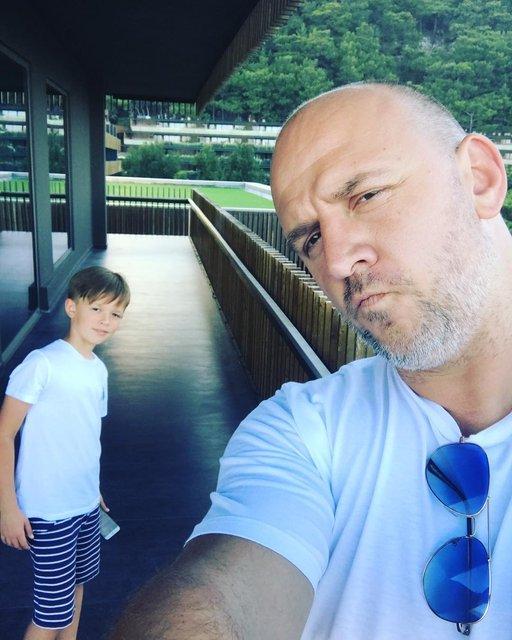 Потап с сыном на отдыхе: фото - фото 57419
