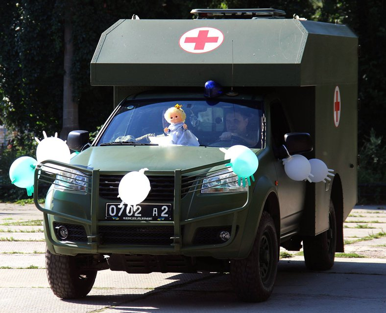 Свадьба военных молодоженов - фото 59952