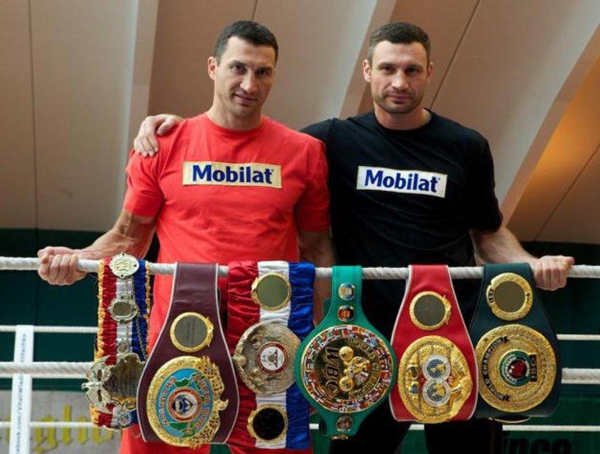 День рождения Виталия Кличко: Лучшие фото знаменитого боксера и мэра - фото 58759