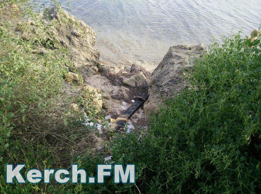 Оккупанты превратили пляжи Крыма в свалку - фото 58817