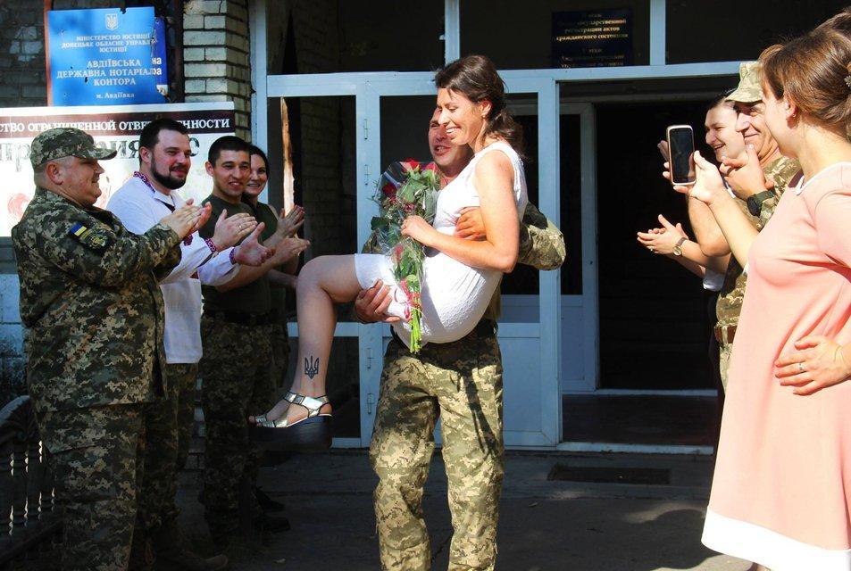 Свадьба военных молодоженов - фото 59950