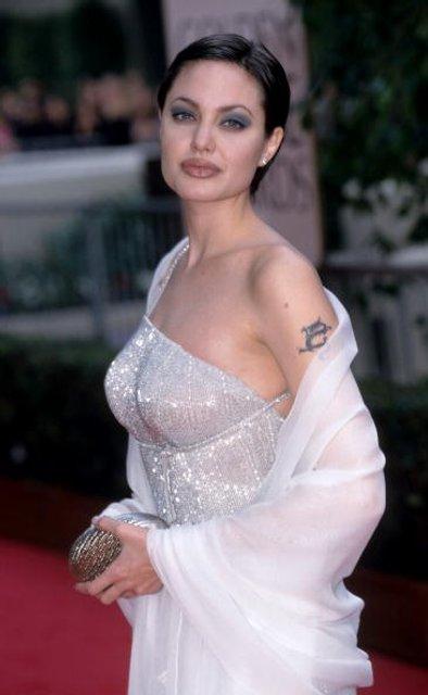 Анджелина Джоли в 90-ые: фото - фото 61643