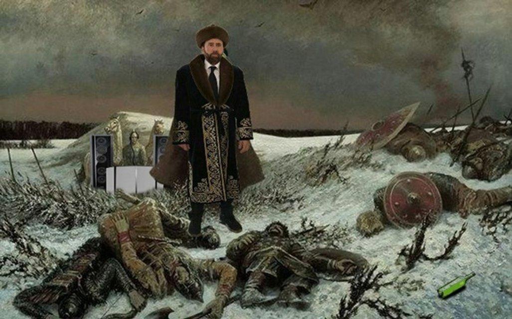 Николас Кейджд стал мемом - фото 60119