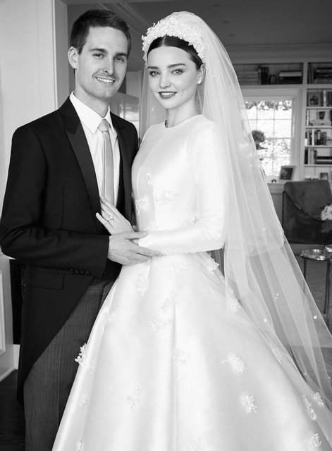 Свадьба Миранды Керр и Эвана Шпигеля: фото - фото 58260