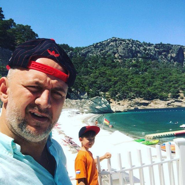 Потап с сыном на отдыхе: фото - фото 57421