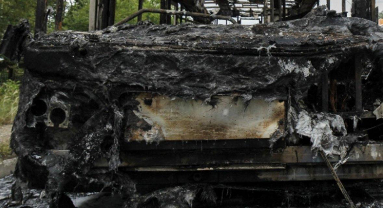 В Болагрии сгорел автобус с россиянами - фото 61481