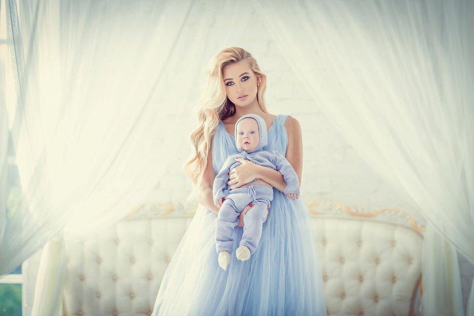 Алла Барановская с сыном от Николая Тищенко: фото - фото 62108