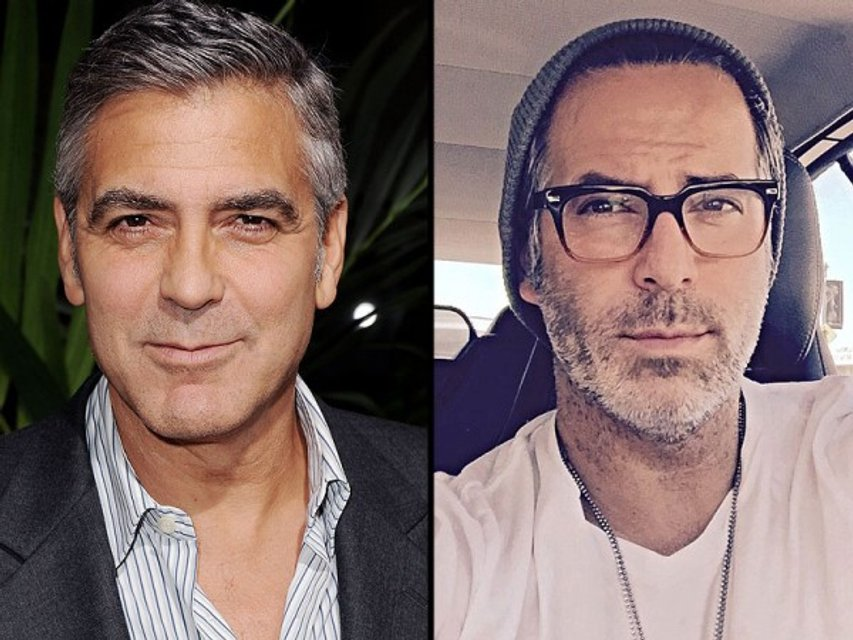 Джордж Клуни и Гильермо Запат из Аргентины - фото 55308