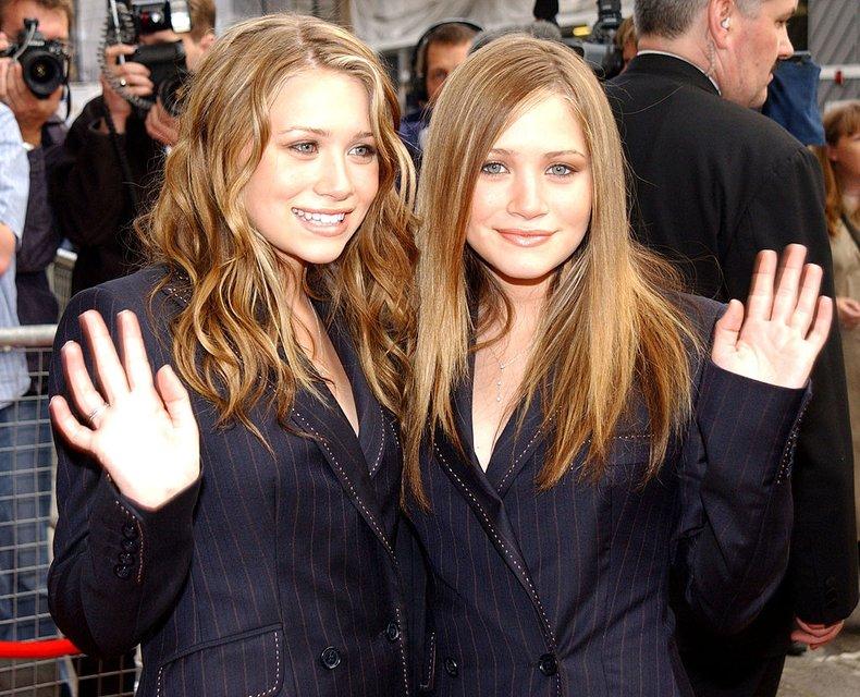 Мэри-Кейт и Эшли Олсен: фото - фото 60170