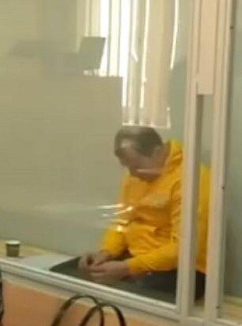 Один из арестованных - фото 56446
