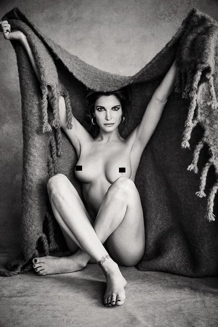 Стефани Сеймур полностью разделась для глянца - фото 61195