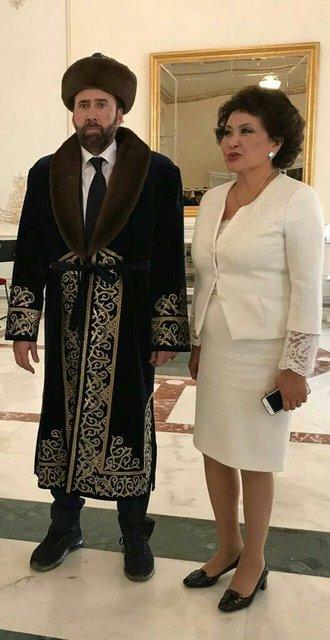 Николас Кейдж в Казахстане - фото 60115
