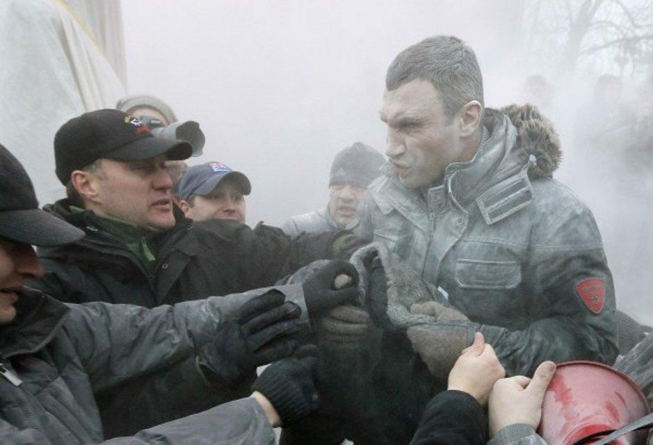 День рождения Виталия Кличко: Лучшие фото знаменитого боксера и мэра - фото 58767