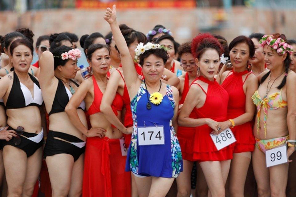 Участники конкурса красоты в Китае - фото 59886