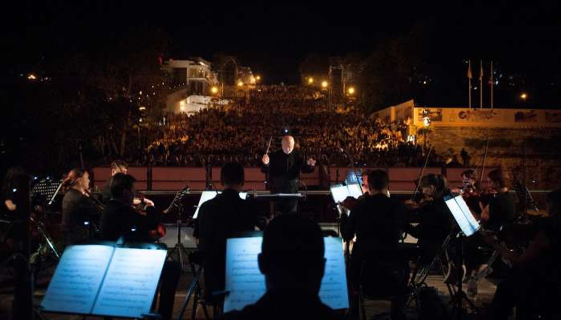 Cимфонический оркестр на ОМКФ - фото 58195