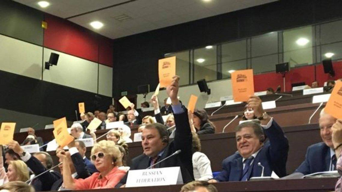 Делегация РФ в ОБСЕ голосует против Минской декларации ОБСЕ - фото 56550