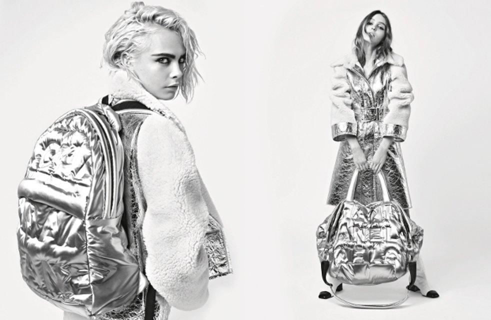 Кара Делевинь и Лили-Роуз Депп снялись в чувственной фотосессии - фото 60468