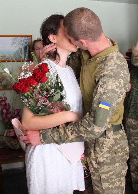 Свадьба военных молодоженов - фото 59954
