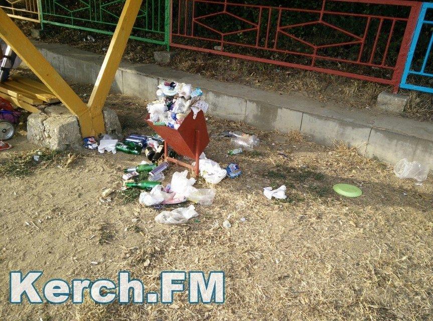 Оккупанты превратили пляжи Крыма в свалку - фото 58814