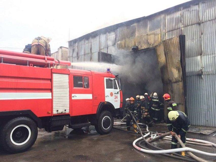 Пожар в Печерском районе Киева: фото - фото 61816