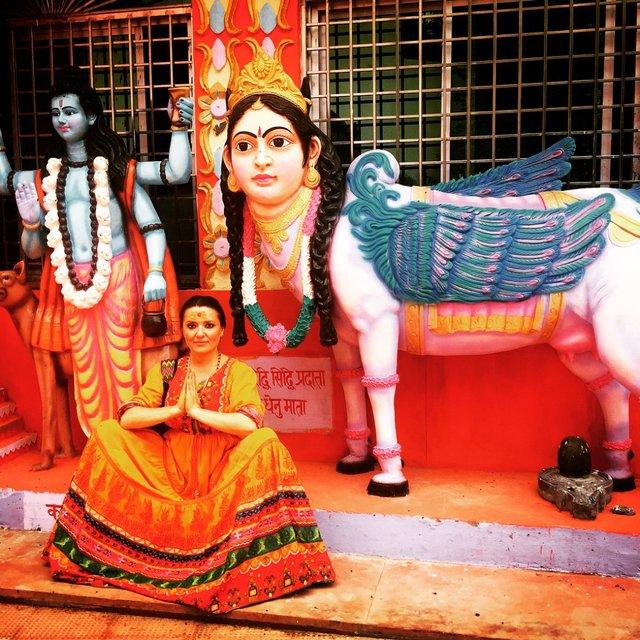 Могилевская в Индии - фото 57087
