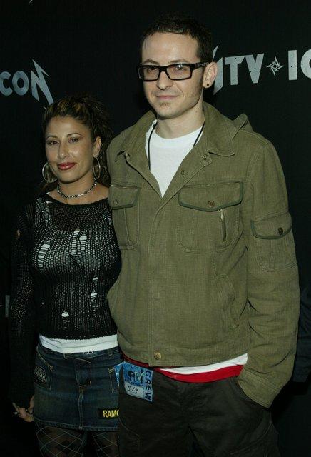 Умер Честер Беннигтон: лидер Linkin Park с первой женой Самантой - фото 59590
