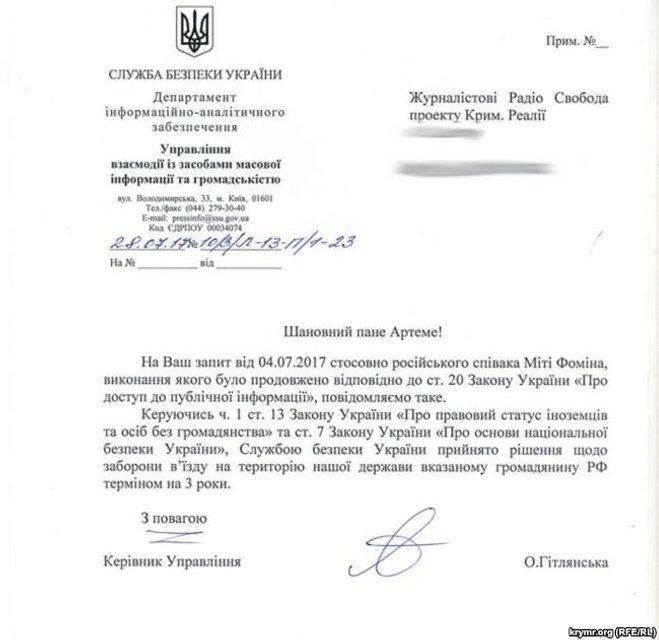Мите Фомину запретили въезд в Украину - фото 61599