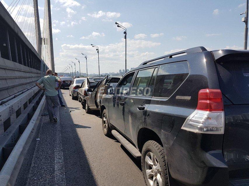 ДТП на Южном мосту - фото 59069