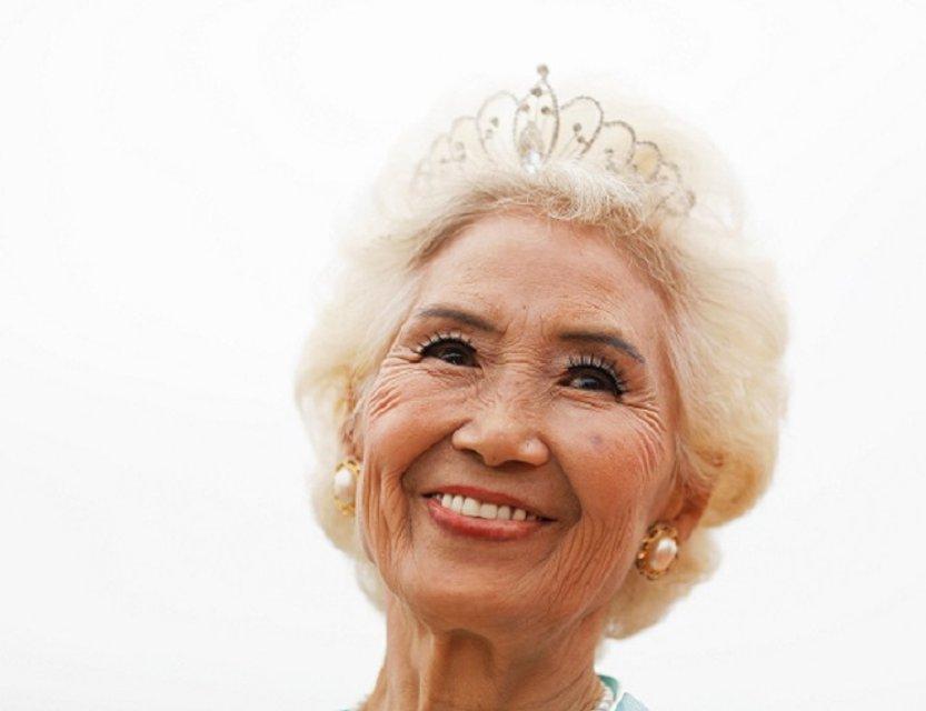 Участница конкурса красоты в Китае - фото 59893