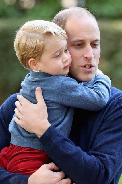 Принц Уильям и принц Джордж - фото 59871