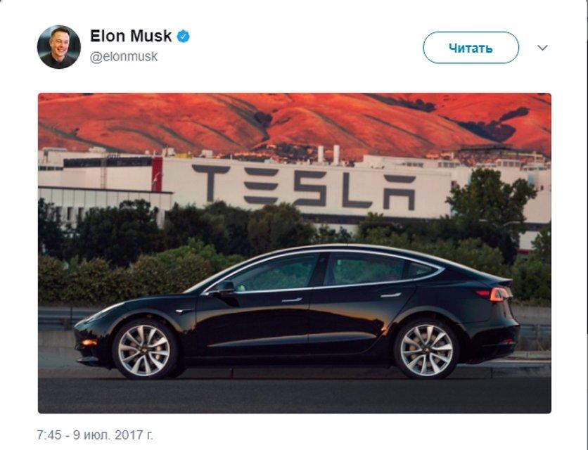 Новая Tesla Model 3: в сети появились первые фото - фото 56707